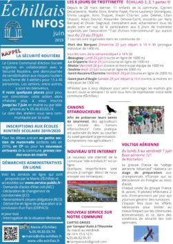 Echillais info juin 2019